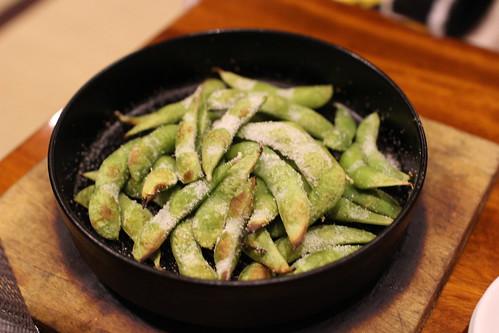 味かね食堂_焼き枝豆