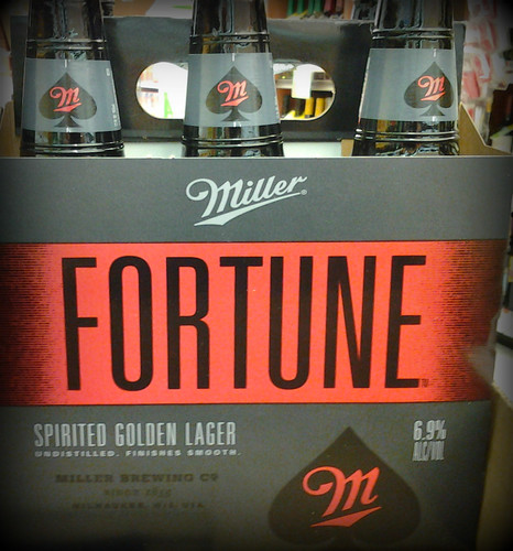 "MillerCoors ""Spirited golden lager"": misleading and untrue"