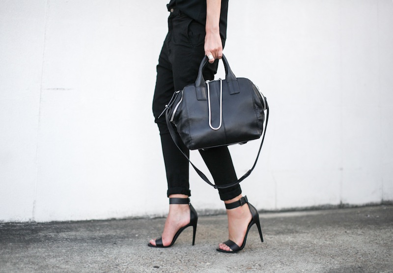 modern legacy fashion personal style blog australia street bassike camilla and marc all black tibi heels alexander wang jamie chain tote bag workwear (10 of 10)