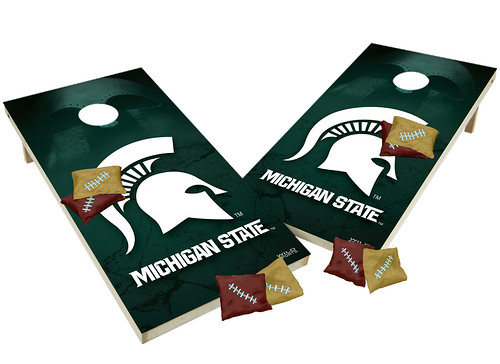 Michigan State Spartans Custom Cornhole Boards XL