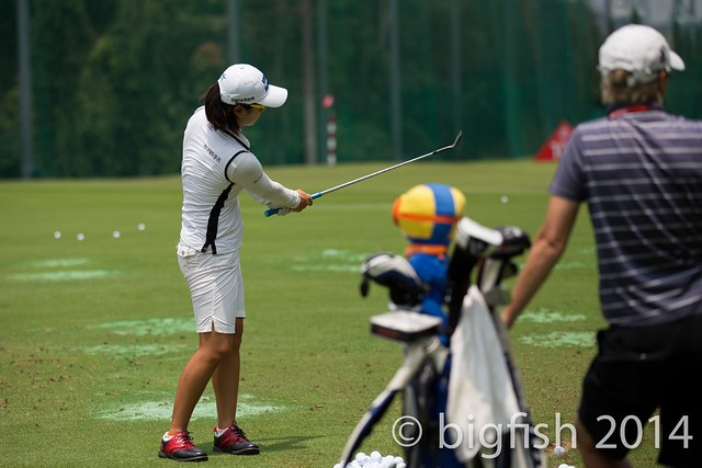Some ladies golfers - Practice Round - Day 2 (some pics) 12763442225_350e10feec_z