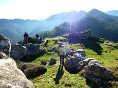 Le plateau sommital de Punta di u Castellacciu