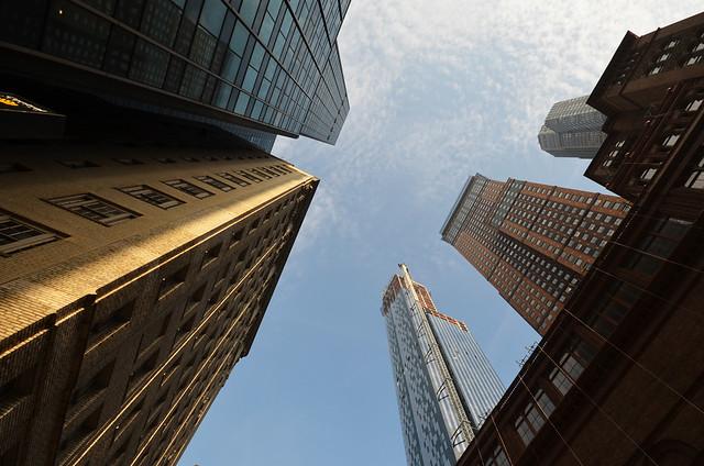 Rascacielos de Manhatthan