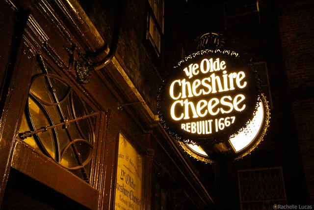 London Pub - Ye Olde Cheshire Cheese
