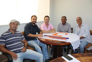 Fabinho, Alexandre Pereira, Henrique do Paraíso, Dito Lustosa e Marquinho