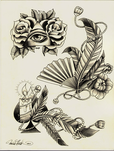 Nuevos diseños disponibles para que te tatúes! Citas disponibles en Soulflower Tattoo & Piercing Soulflower Hidalgo SoulFlower GirlsWorkink Hidalgo #tatoo #flashtattoo #flash #neotraditional #misshask #hask