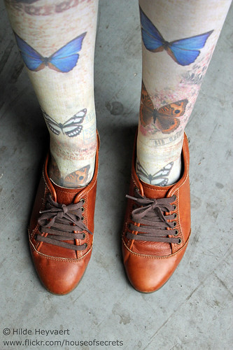 Shoes + tights