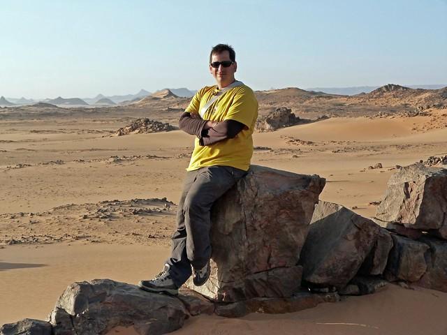 Sele en el desierto de Egipto