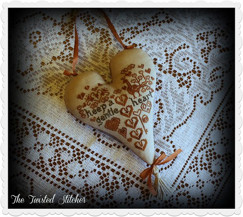 Cinnamon Hearts by Threadwork Primitives