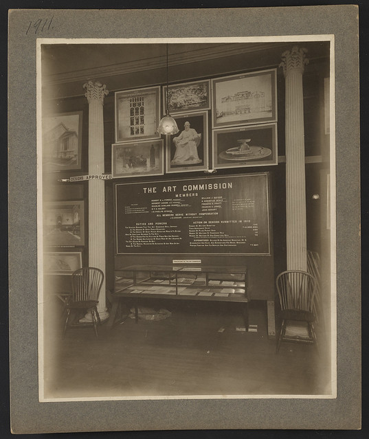 Art Commission display, New York City budget exhibit, 1911