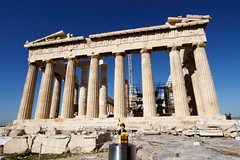 Travels of badger - The Parthenon on the Athenian Acropolis