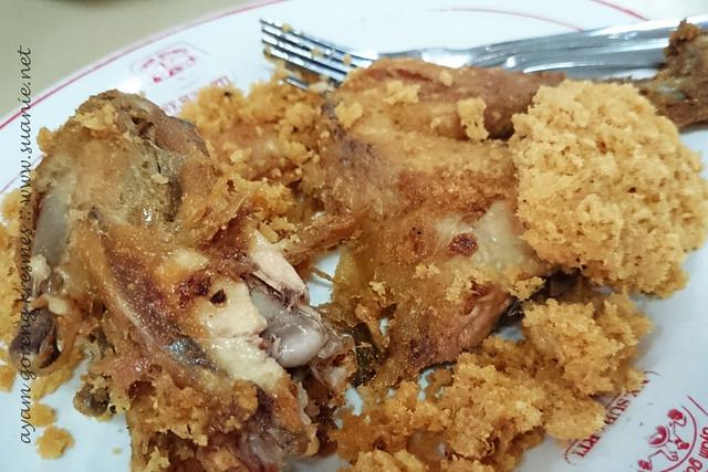 Ayam Goreng Goreng at NY Suharti, Yogyakarta - kresmes