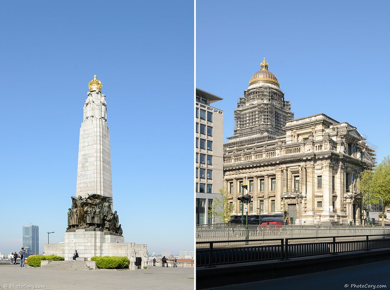 The Justice Palace and monument in Brussels