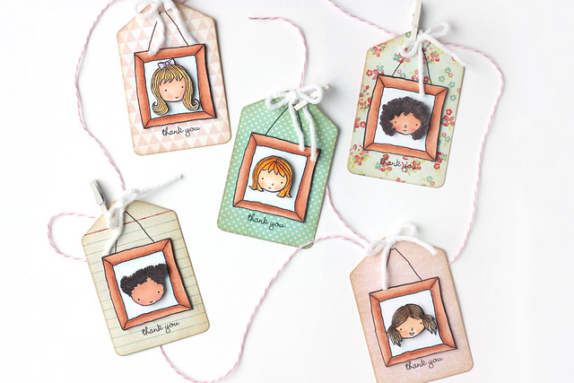 thank you tags {stampin' up}