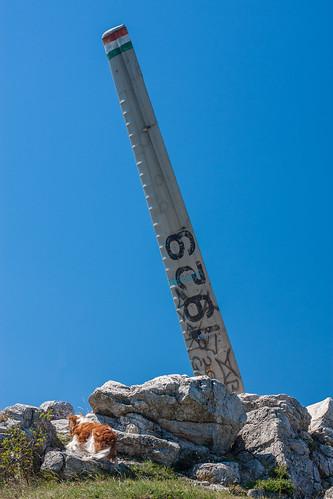Glider Statue in Farkas-hill