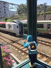 電車見る NEX 2014/4