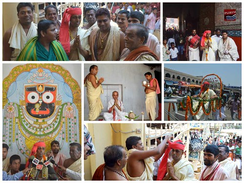 Sri Ramachandra Badapanda inducted into the holy Service of Lord Jagannath Temple