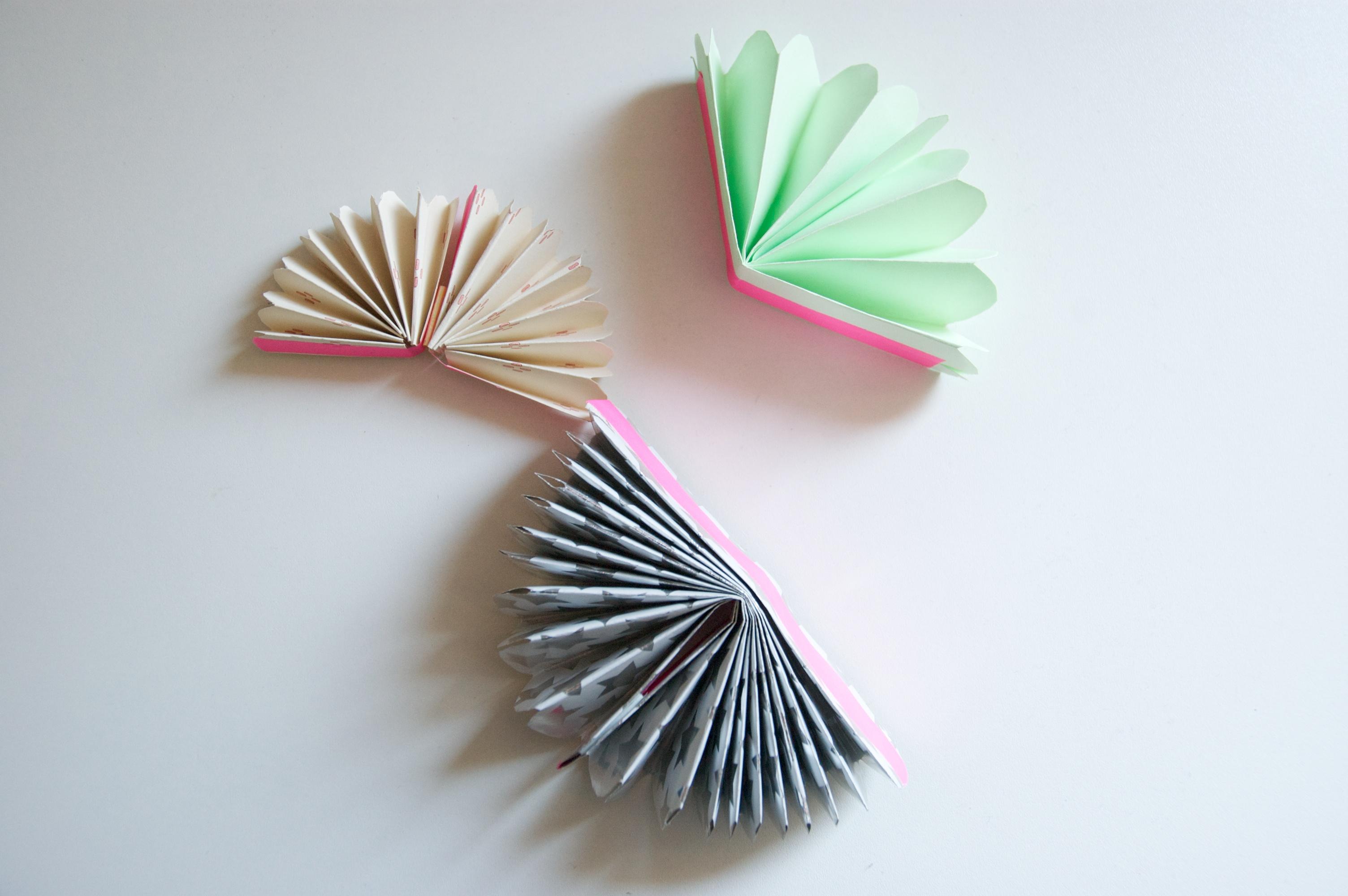 ventagli di carta