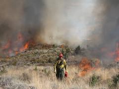 BLM Firefighters near Burns, Oregon