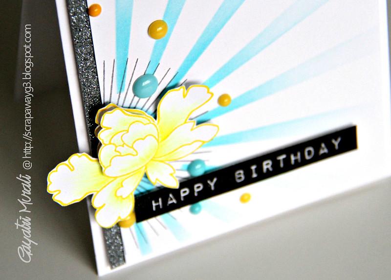 Happy Birthday closeup 1