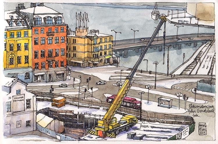 Södermalmstorg, Slussen, Stockholm