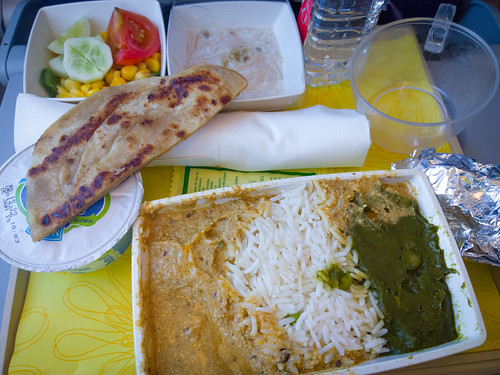 Jetairways veg meals