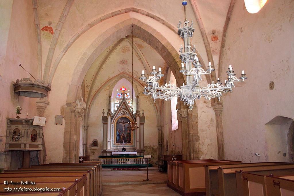 Interior de la iglesia. © Paco Bellido. 2005