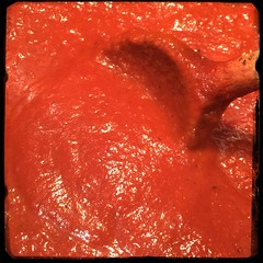 #CucinaDelloZio - #Homemade #Ketchup -immersion blender for consistency