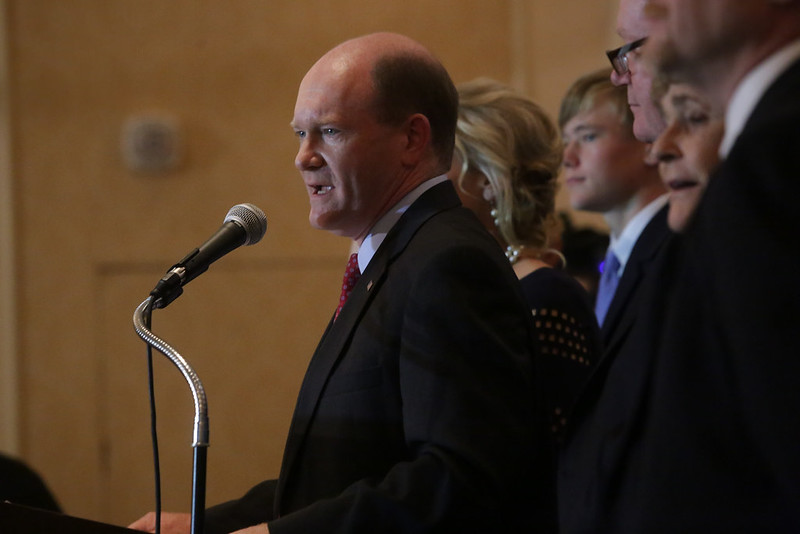 Coons addresses U.S. relations with Israel