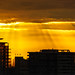 Crepuscular Rays at Sunset in Vancouver BC by TOTORORO.RORO