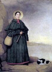Mary Anning 瑪麗.安寧,圖片來源:維基百科