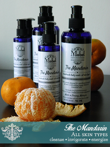 The Mandarin Liquid Body Wash
