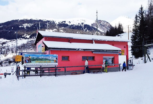 Preda to Bergün Sledging
