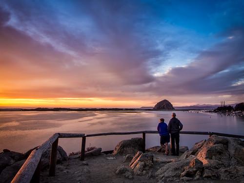 sunset clouds topaz lightroom morrobaystatepark
