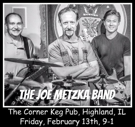 Joe Metzka Band 2-13-15