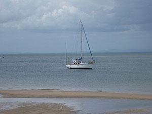 Yacht-At-Bribie-Island