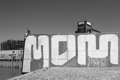 Boy on Wall
