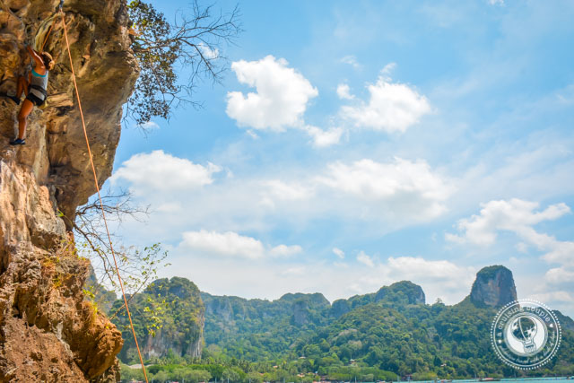 Rock Climbing East Railay Beach