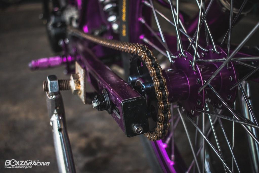 Wave Drag độ màu tím khủng khiếp với Piston 78mm (Thái) - 6
