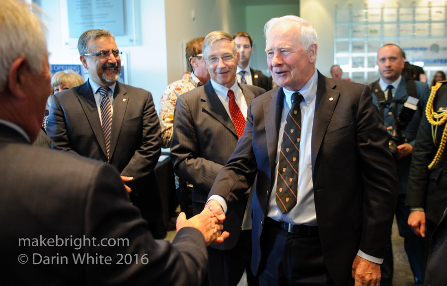 Governor General David Johnston at the AC - May 2016 461