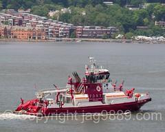 FDNY Three Forty Three Fire Rescue Boat, 2016 Fleet Week New York
