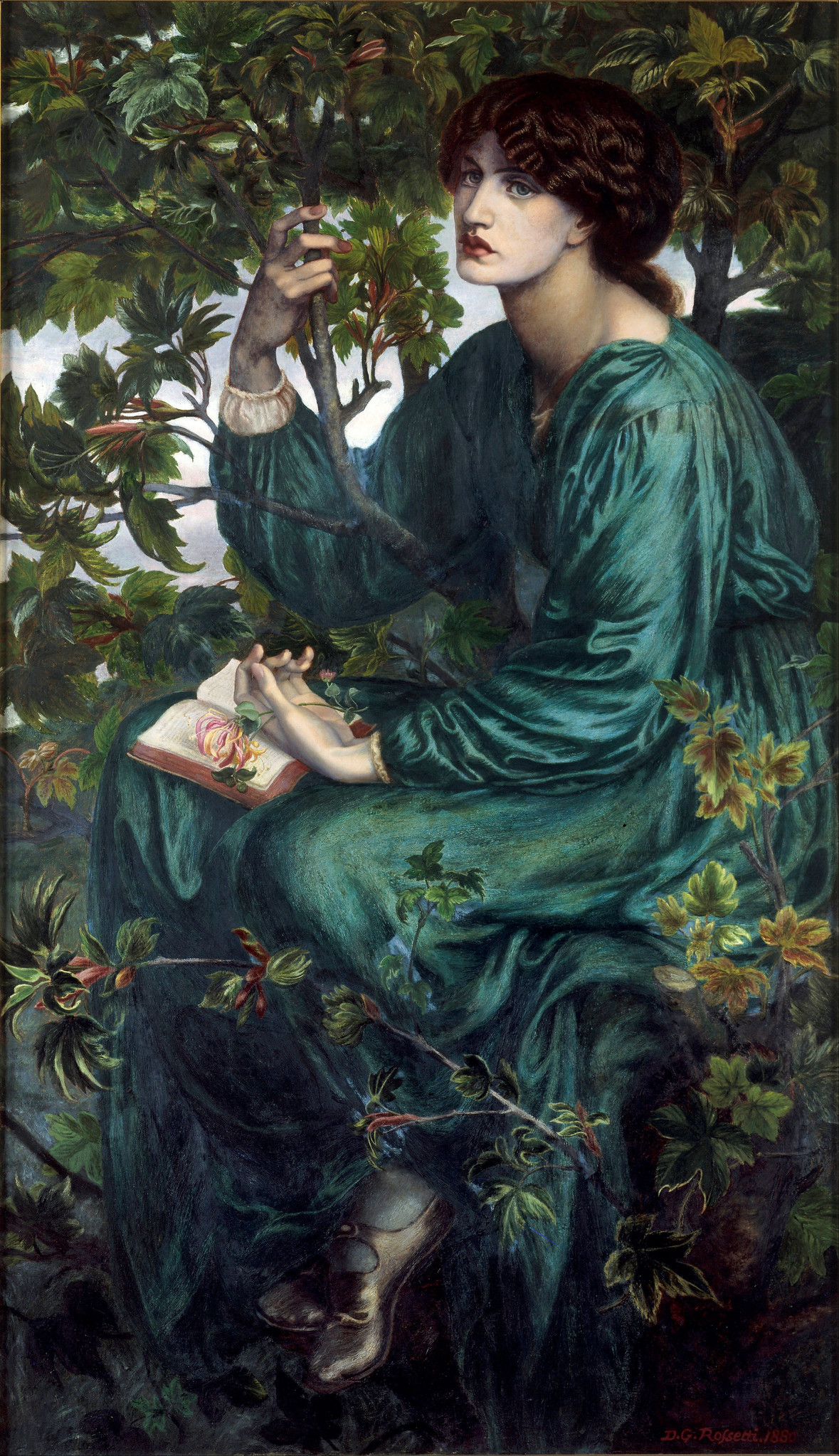 The Day Dream by Dante Gabriel Rossetti - 1880