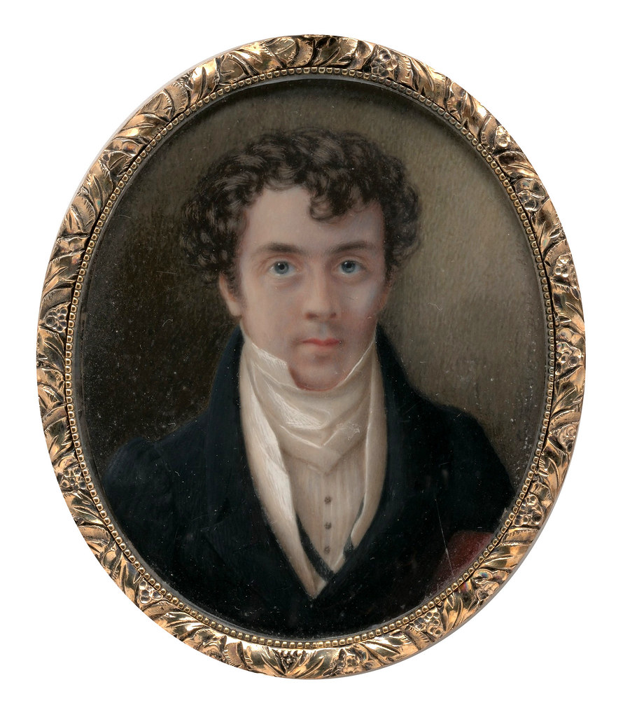 Self Portrait by George Harvey, 1830