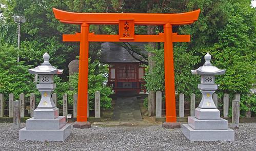 japan shrine torii kumamoto kyushu yatsushiro
