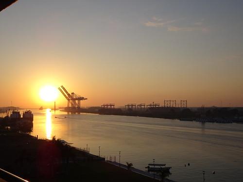 travel sun sunrise river mexico cranes travelogue tuxpan