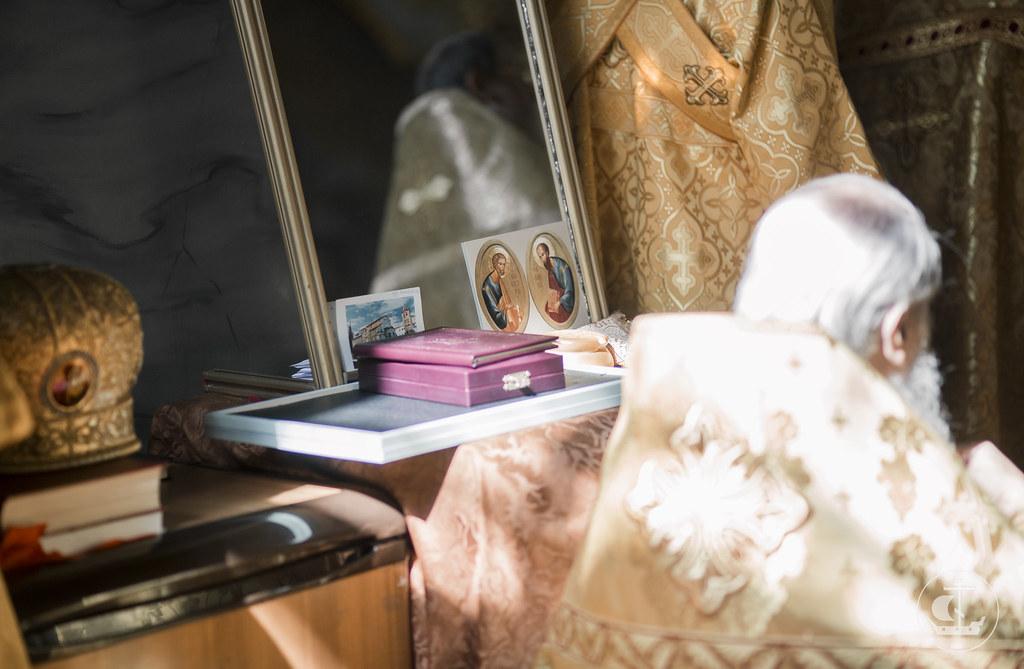 12 июля 2016, Патриаршее богослужение в Петропавловском соборе Санкт-Петербурга / 12 July 2016, The Patriarchal service in the Peter and Paul Cathedral in St. Petersburg