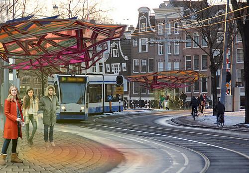 202 Urban Parasol - Transit scenario