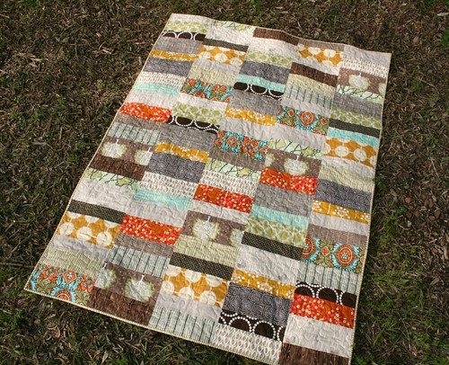 Optimism throw quilt