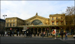Gare de l'Est train station, Paris
