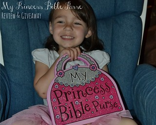 My Princess Bible Purse Title